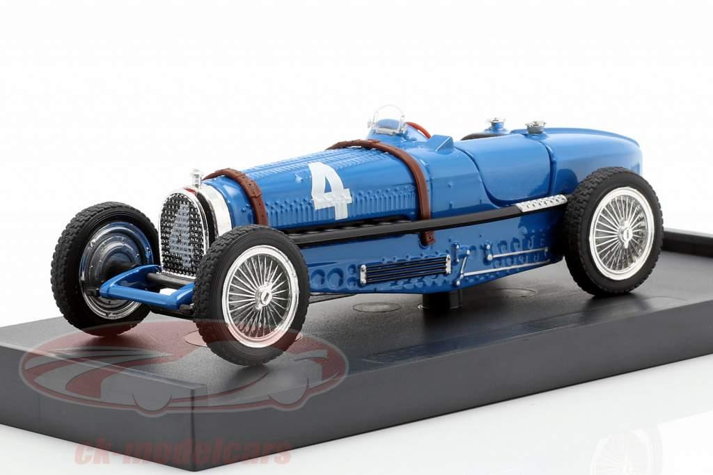 Rene Dreyfus Bugatti Type 59 #4 Winner Belgien GP Formel 1 1934 1:43 Brumm