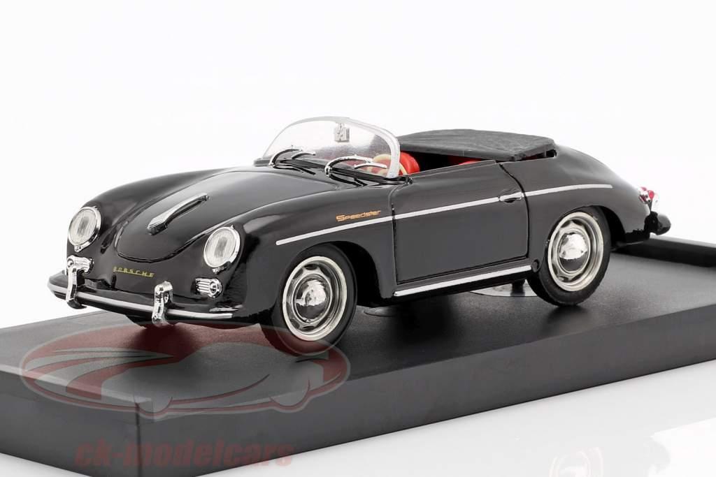 Porsche 356 Speedster année de construction 1952 noir 1:43 Brumm
