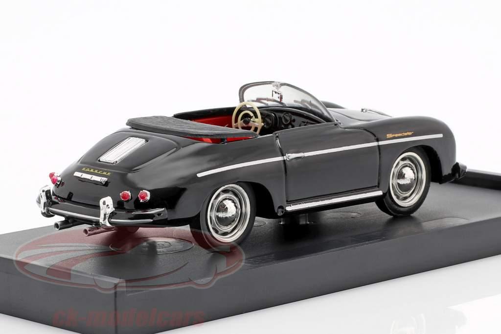 Porsche 356 Speedster Baujahr 1952 schwarz 1:43 Brumm