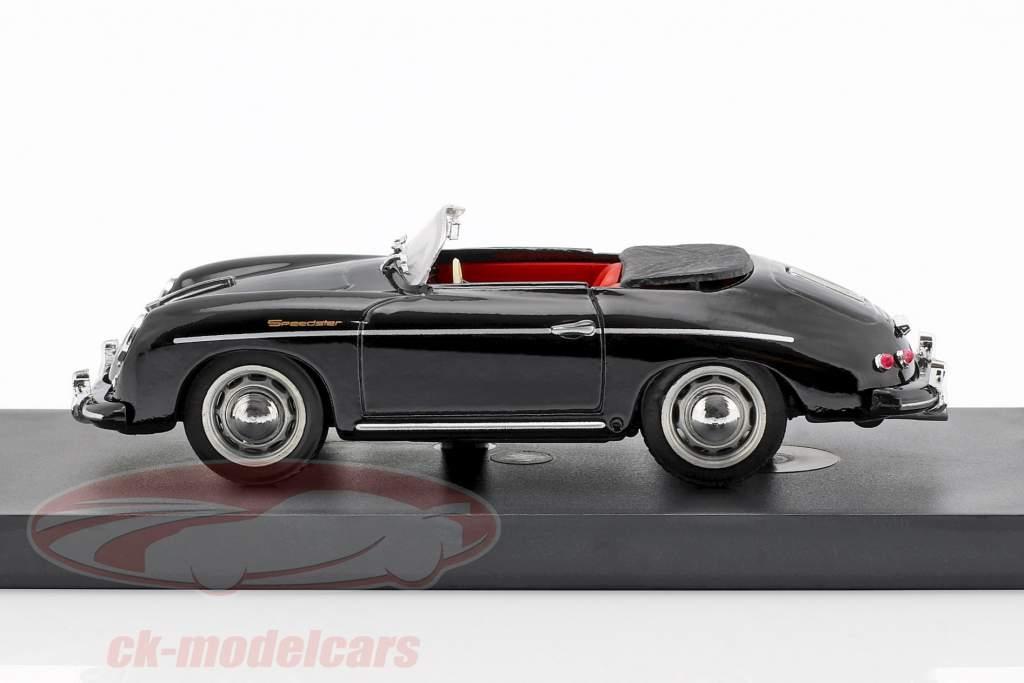 Porsche 356 Speedster Opførselsår 1952 sort 1:43 Brumm