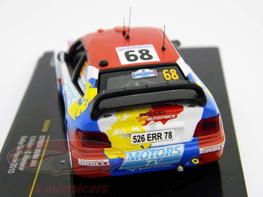 Citroen Xsara N° 68 Rallye de France 2010 1:43 Ixo