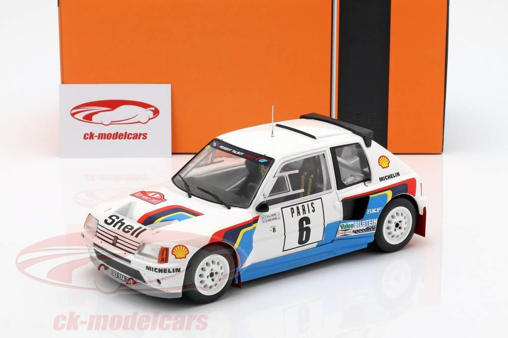 Peugeot 205 T16 #6 Rally Monte Carlo 1985 Salonen, Harjanen 1:18 Ixo