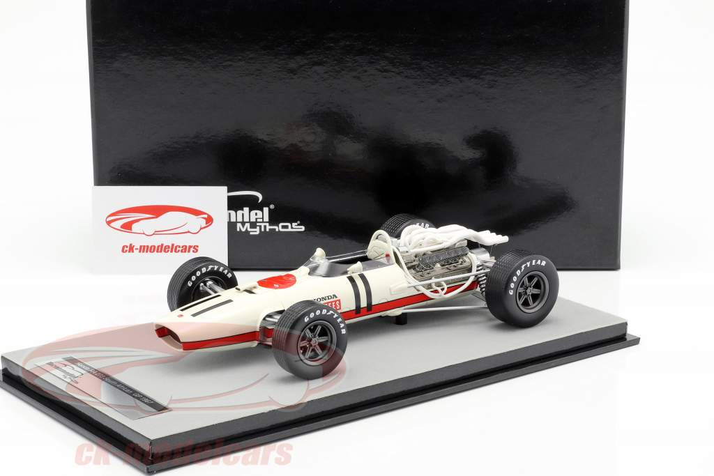 John Surtees Honda RA273 #11 3ª África do Sul GP fórmula 1 1967 1:18 Tecnomodel