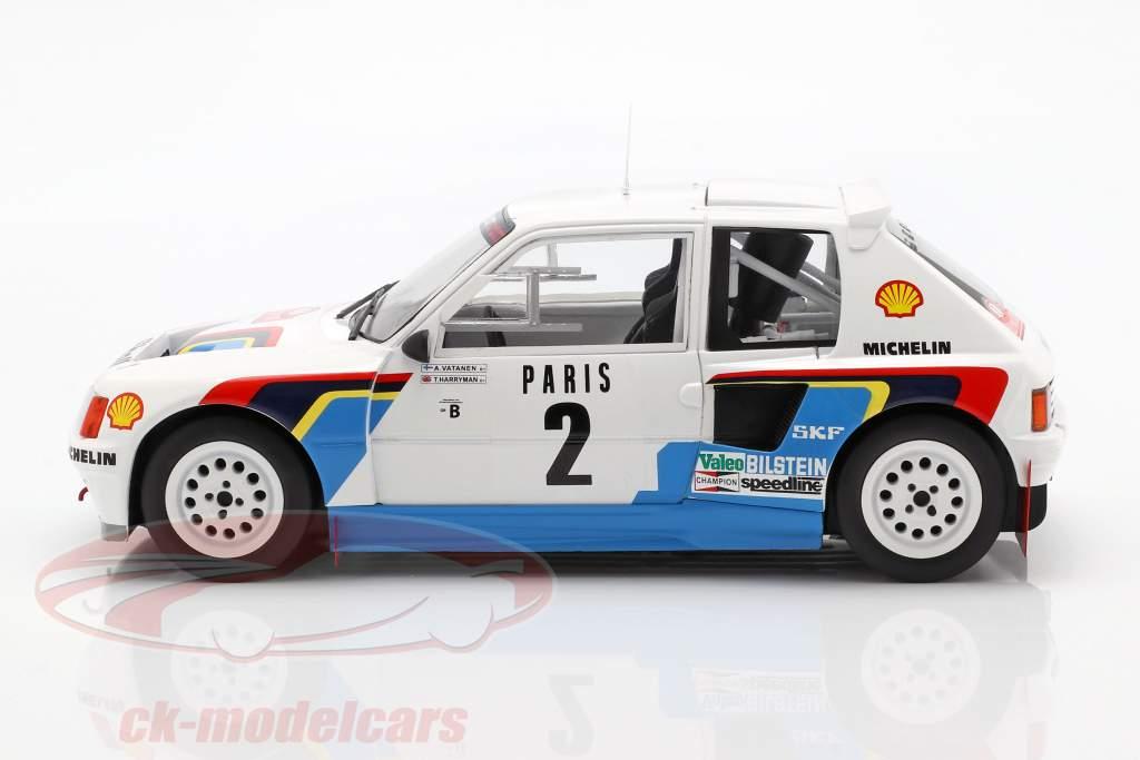 Peugeot 205 T16 #2 Rally Monte Carlo 1985 Vatanen, Harryman 1:18 Ixo