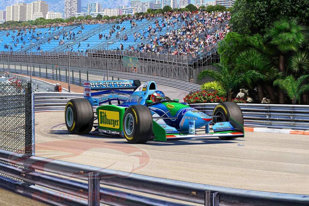 25 anniversario Benetton Ford F1 kit 1:24 Revell