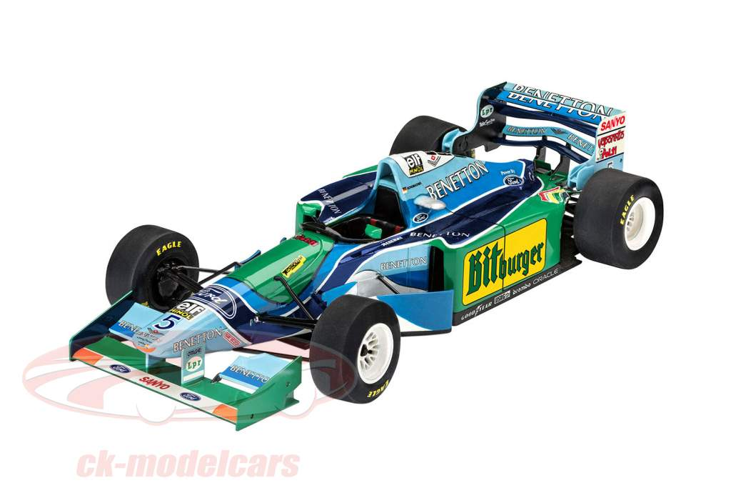 25th Anniversary Benetton Ford F1 kit 1:24 Revell