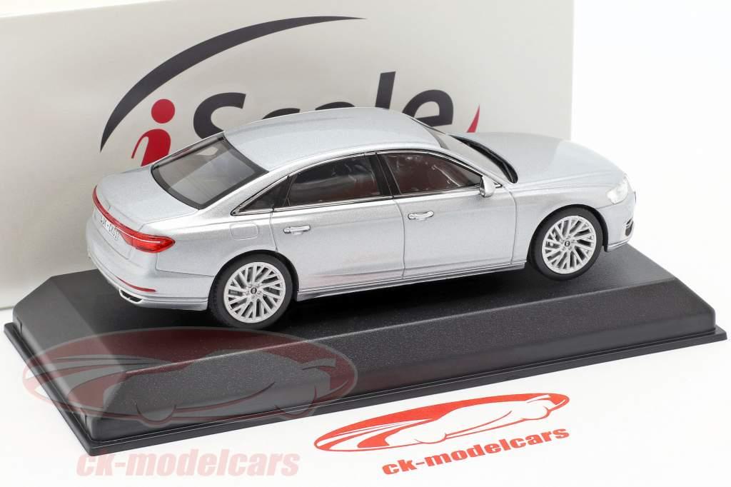 Audi A8L sølv 1:43 iScale