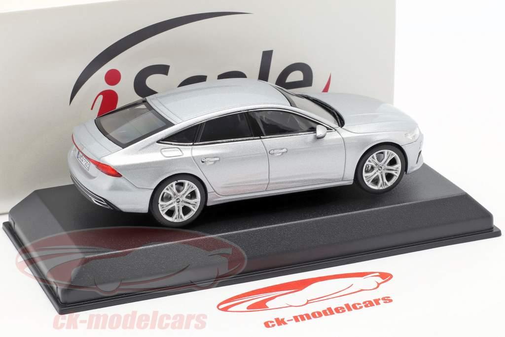 Audi A7 Sportback argento 1:43 iScale