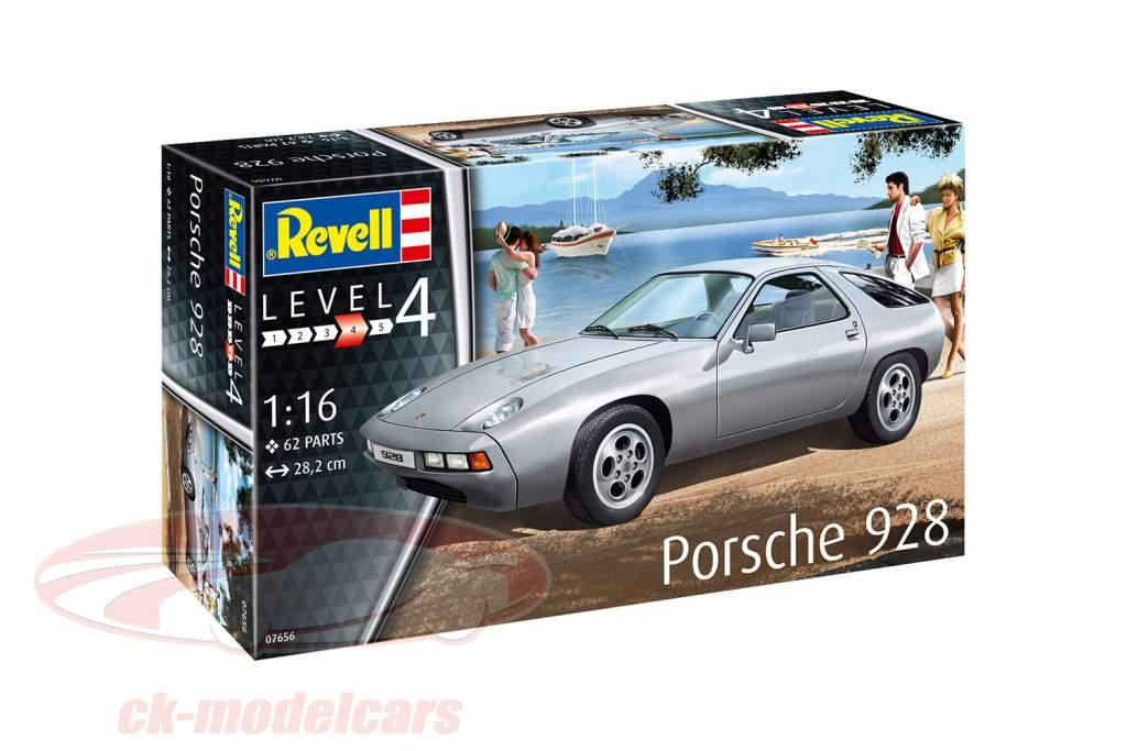 Porsche 928 equipo plata 1:16 Revell