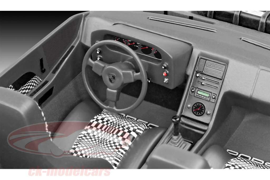 Porsche 928 kit silver 1:16 Revell