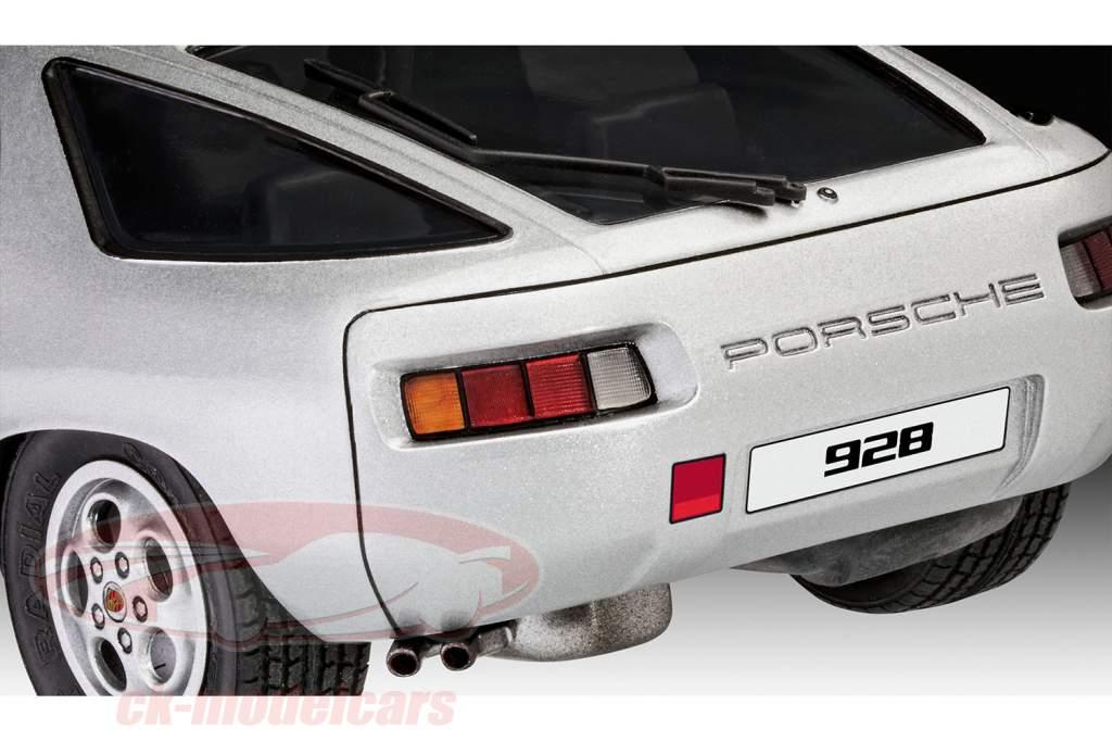 Porsche 928 trousse argent 1:16 Revell