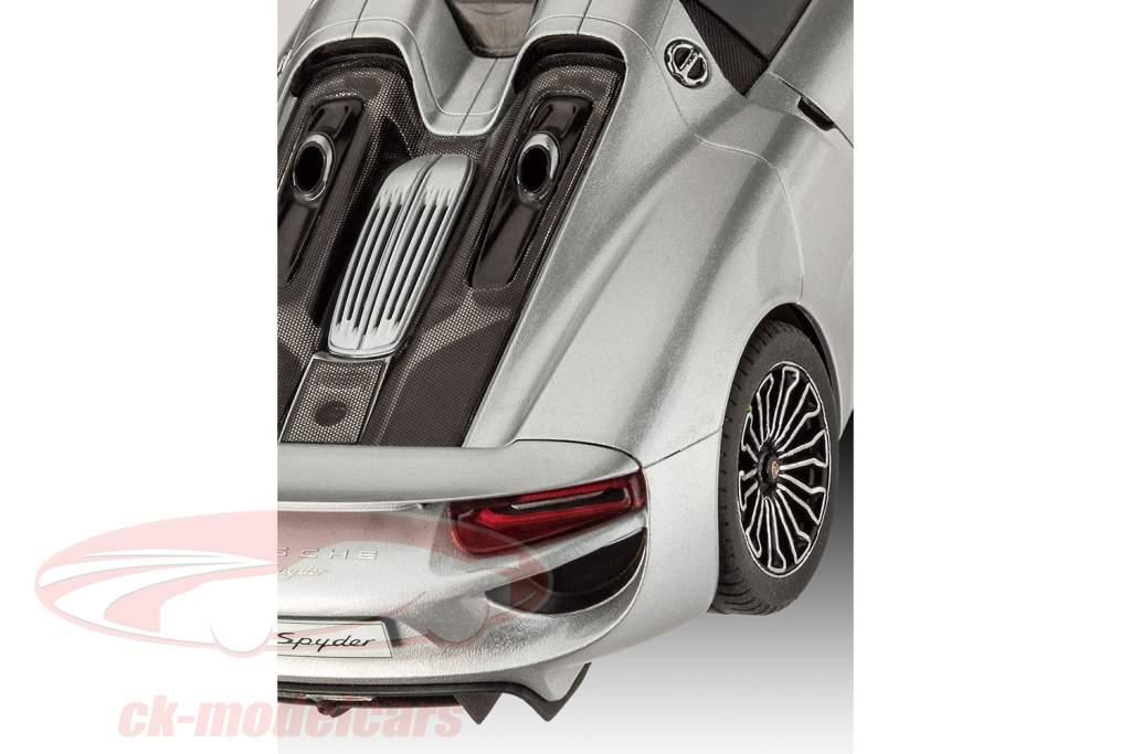 Porsche 918 Spyder Bausatz silber 1:24 Revell