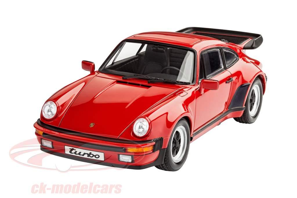 Porsche 911 Turbo Bausatz rot 1:24 Revell