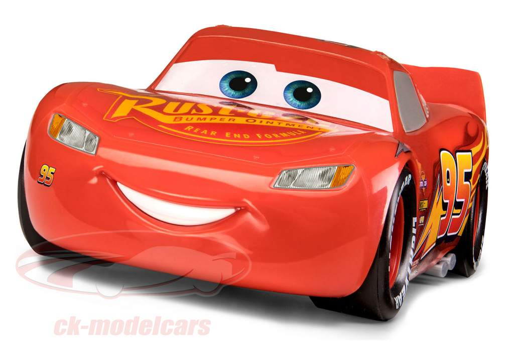 Lightning McQueen Cars uitrusting 1:24 Revell
