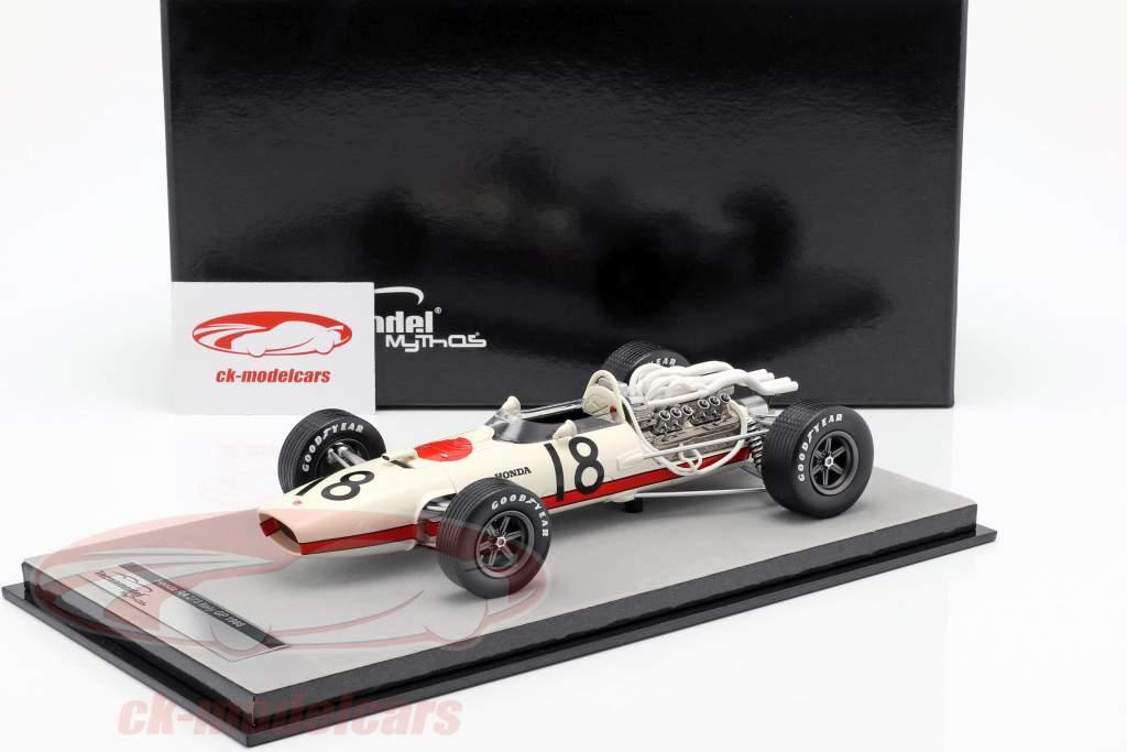 Richie Ginther Honda RA273 #18 Italia GP fórmula 1 1966 1:18 Tecnomodel