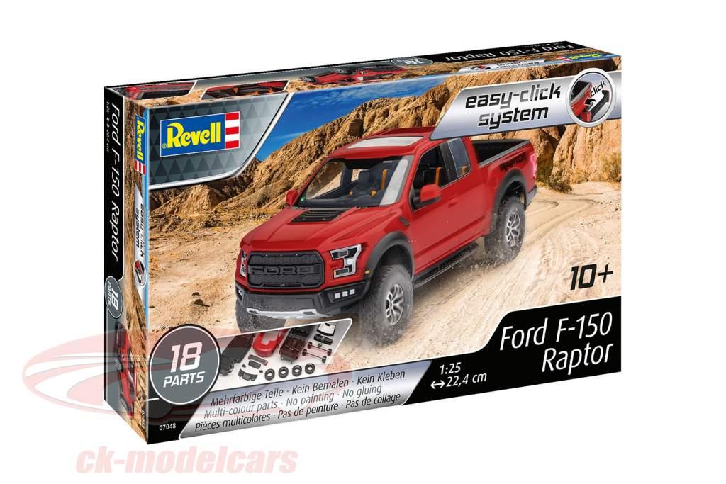 Ford F-150 Raptor estojo rot 1:25 Revell