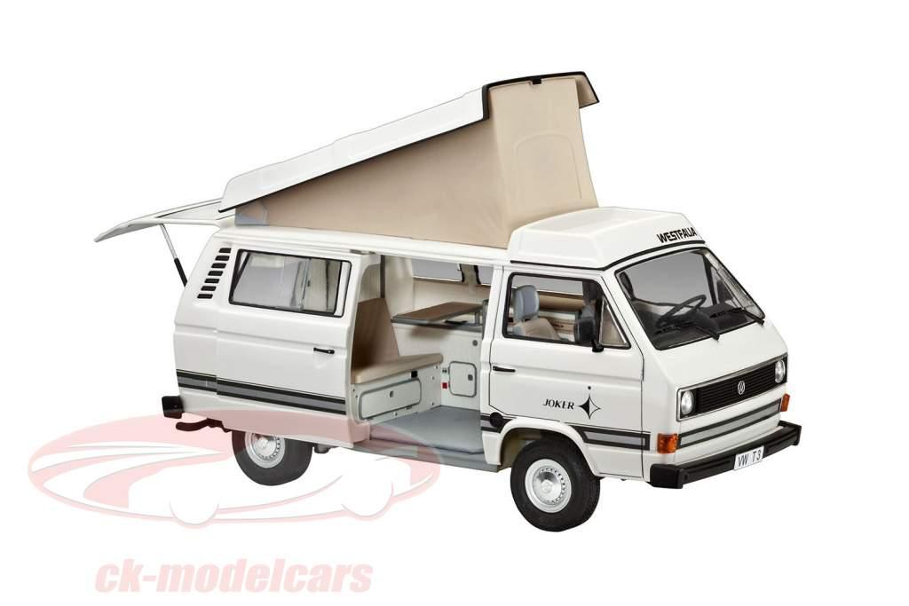 Volkswagen VW T3 Camper Bausatz weiß 1:25 Revell