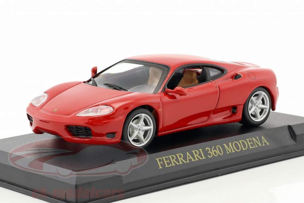 Ferrari 360 Modena Year 1999-2005 red 1:43 Altaya