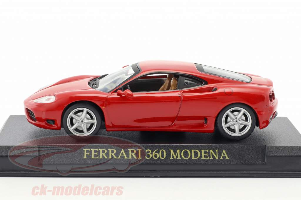 Ferrari 360 Modena år 1999-2005 rød 1:43 Altaya
