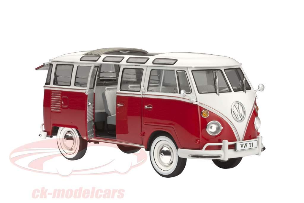 Volkswagen VW T1 Samba Bus trousse 1:24 Revell