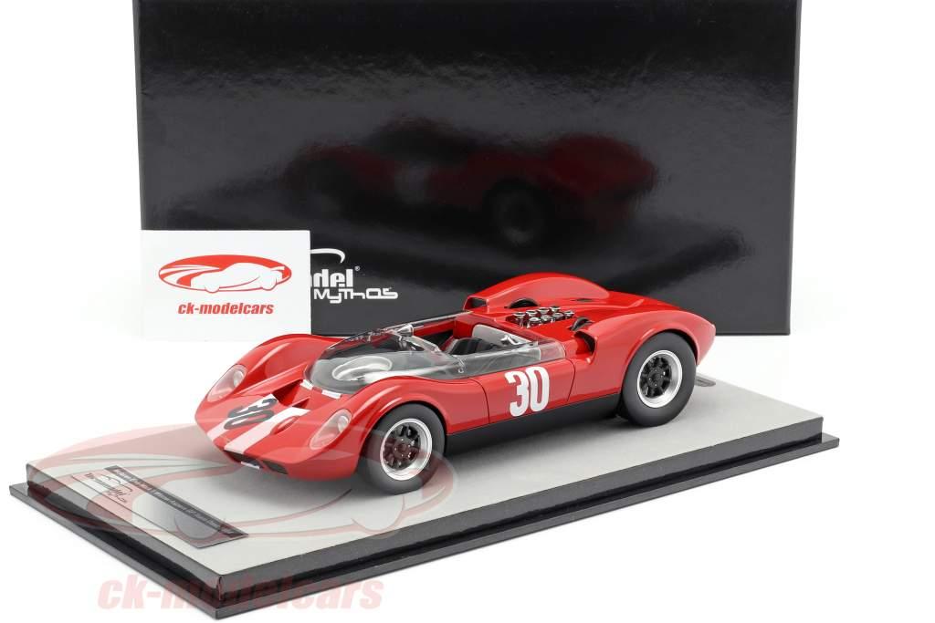 McLaren Elva Mark 1 #30 Vinder Aspern GP 1965 Charles Vogele 1:18 Tecnomodel