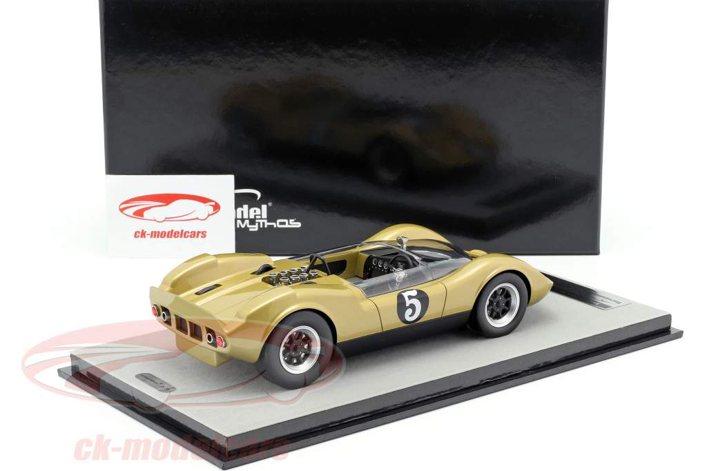 McLaren Elva Mark 1 #5 Spinout Movie 1966 1:18 Tecnomodel