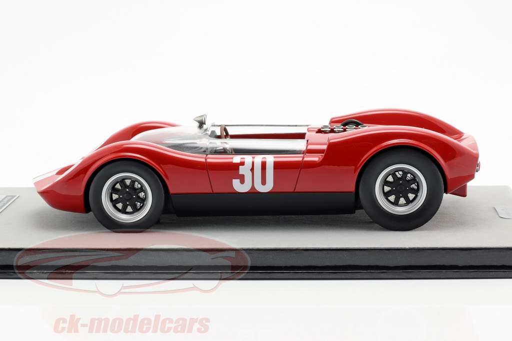 McLaren Elva Mark 1 #30 Winner Aspern GP 1965 Charles Vogele 1:18 Tecnomodel