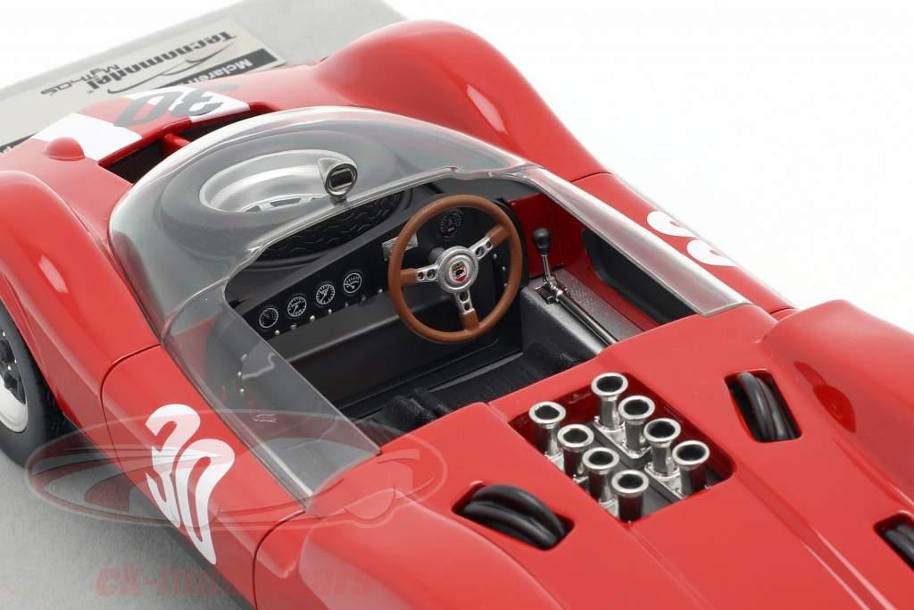 McLaren Elva Mark 1 #30 winnaar Aspern GP 1965 Charles Vogele 1:18 Tecnomodel