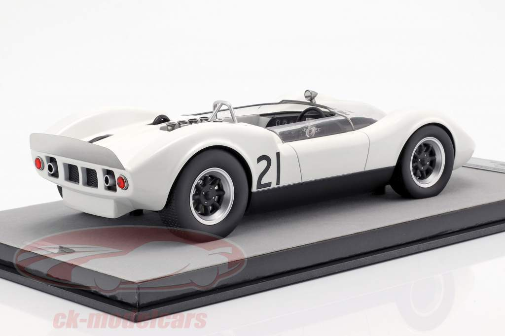 McLaren Elva Mark 1 #21 Guards Trophy Brand Hatch 1965 Graham Hill 1:18 Tecnomodel