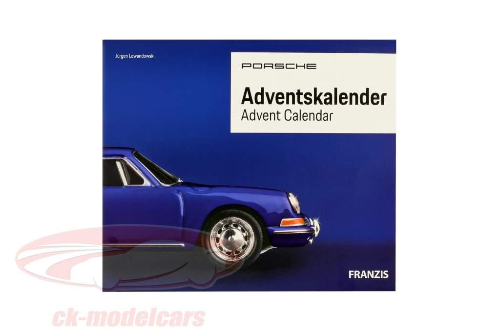 Porsche Calendario de Adviento 2019: Porsche 911 1:43 Franzis