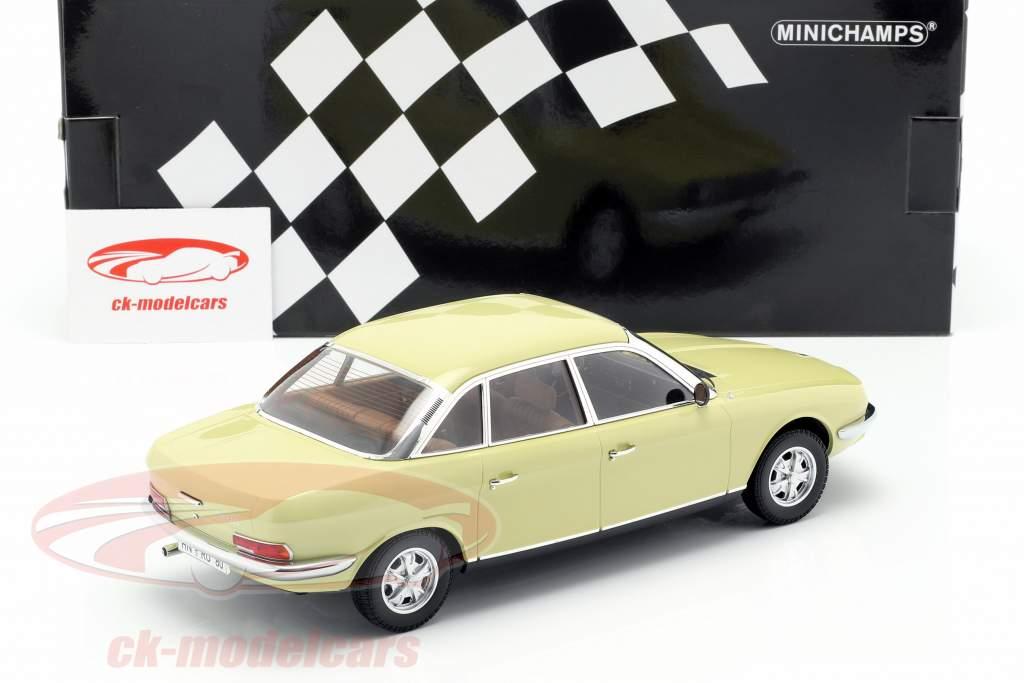 NSU Ro 80 År 1972 gul 1:18 Minichamps