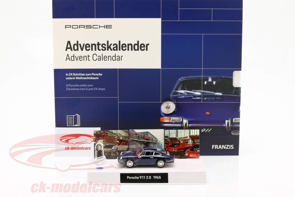 Porsche Adventskalender 2019: Porsche 911 1:43 Franzis