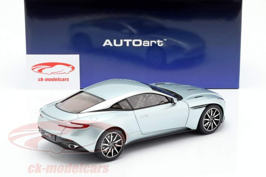 Aston Martin DB11 year 2017 skyfall silver 1:18 AUTOart
