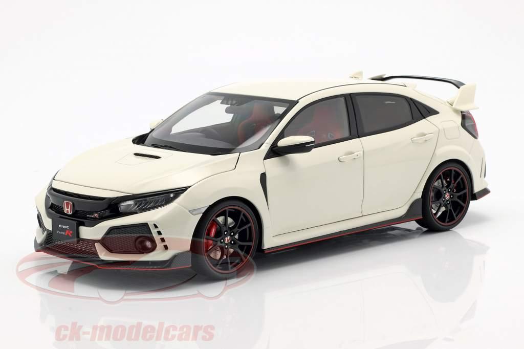 Honda Civic Type R (FK8) Opførselsår 2017 hvid 1:18 AUTOart