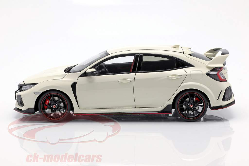 Honda Civic Type R (FK8) anno di costruzione 2017 bianco 1:18 AUTOart