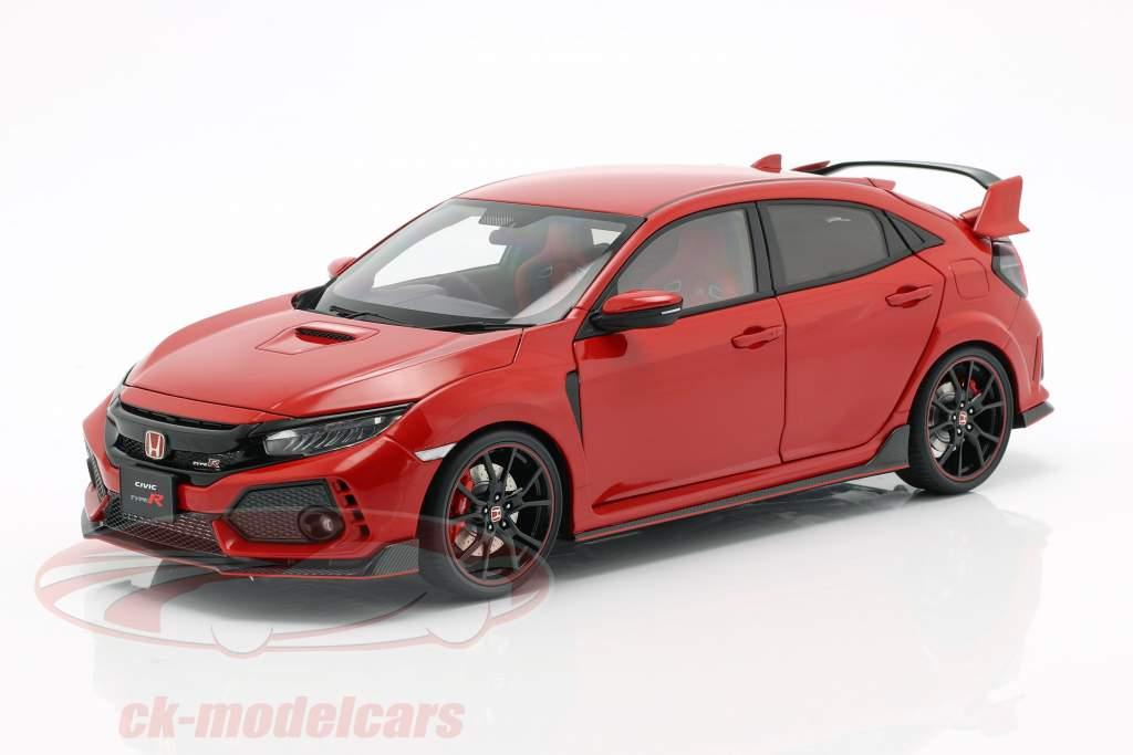 Honda Civic Type R (FK8) année de construction 2017 rouge 1:18 AUTOart