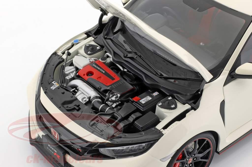 Honda Civic Type R (FK8) année de construction 2017 blanc 1:18 AUTOart