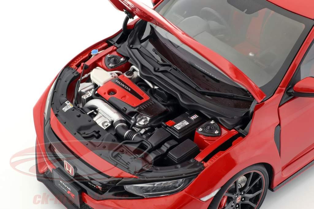 FK 8 2017 red 1:18 73268 Autoart Honda Civic Type R