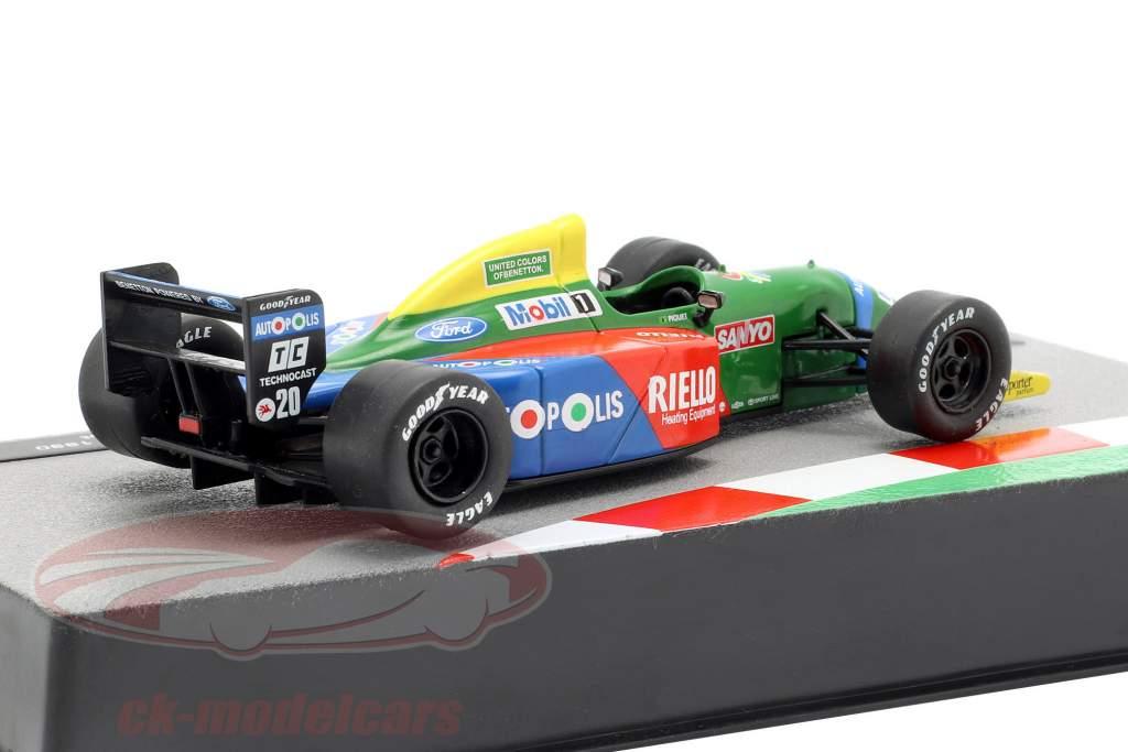 Nelson Piquet Benetton B190 #20 Formel 1 1990 1:43 Altaya