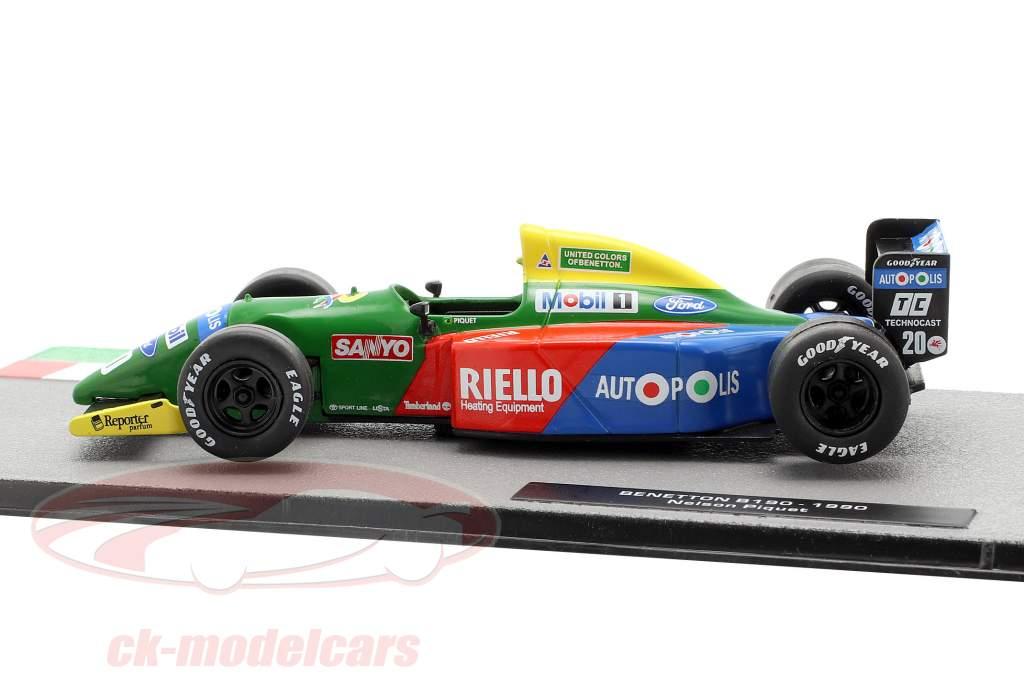 Nelson Piquet Benetton B190 #20 formule 1 1990 1:43 Altaya