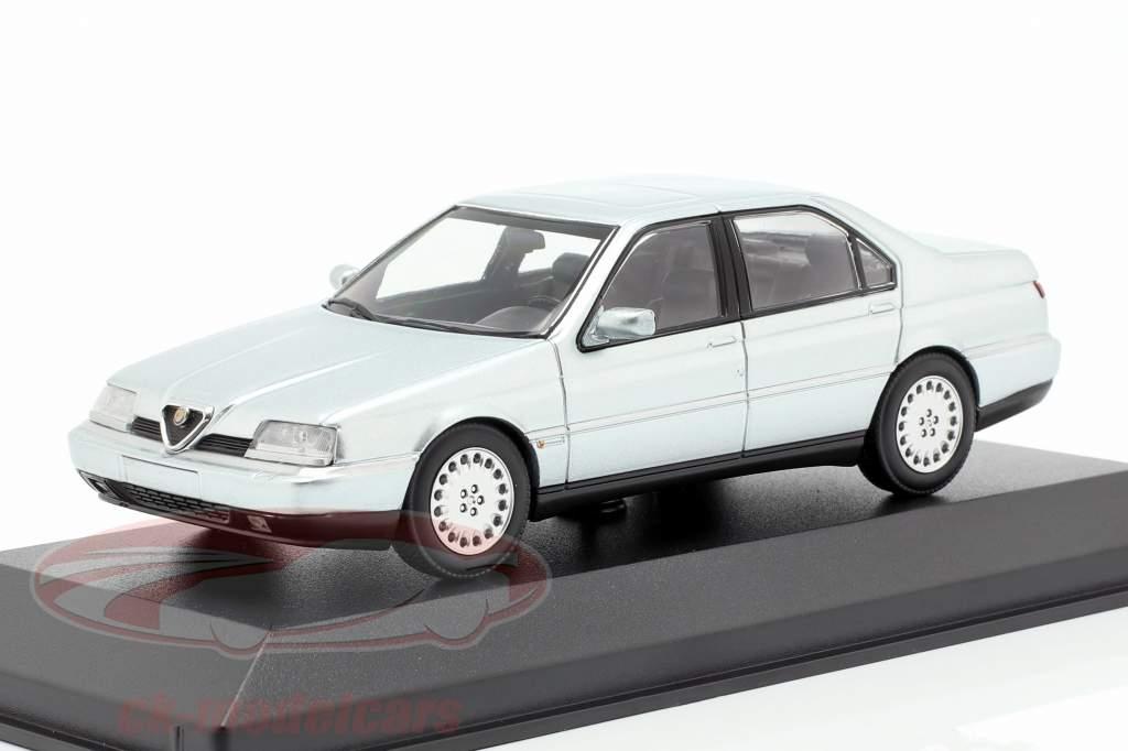Alfa Romeo 164 3.0 V6 Super anno di costruzione 1992 argento metallico 1:43 Minichamps