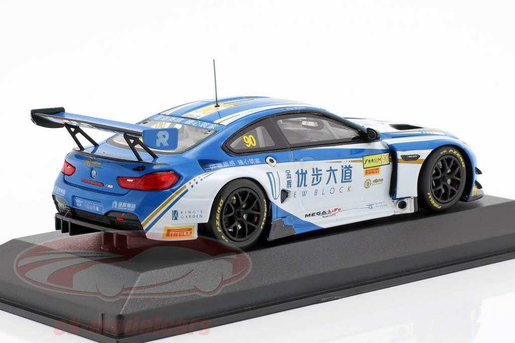 BMW M6 GT3 #90 5th Macau GT Cup 2017 Mostert 1:43 Minichamps