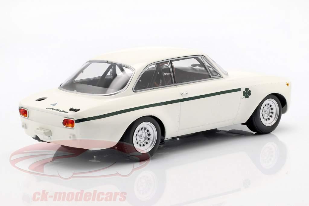 Alfa Romeo GTA 1300 Junior year 1971 white / dark green 1:18 Minichamps