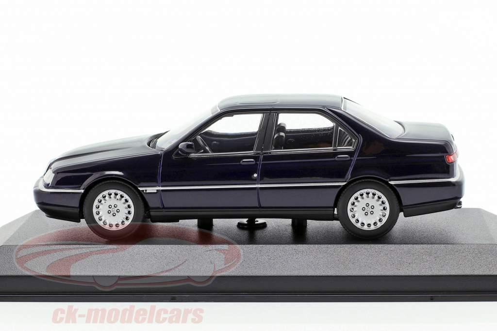 Alfa Romeo 164 3.0 V6 Super Baujahr 1992 blau 1:43 Minichamps