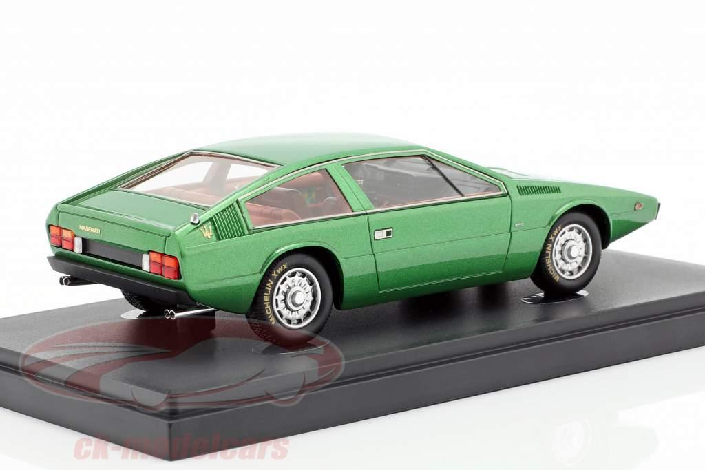 Maserati 124 Coupe 2+2 Italdesign anno di costruzione 1974 verde 1:43 AutoCult