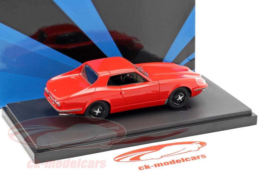 Saab Catherina GT Bouwjaar 1964 rood 1:43 AutoCult