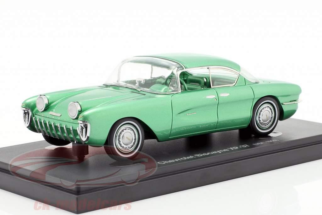 Chevrolet Biscayne XP-37 año de construcción 1955 verde 1:43 AutoCult