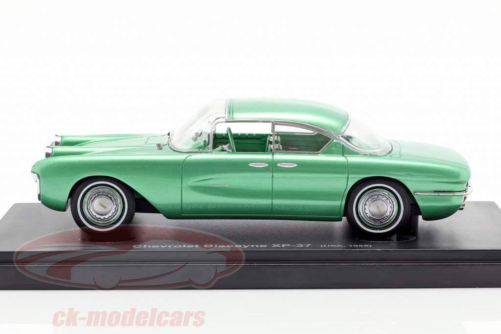 Chevrolet Biscayne XP-37 Opførselsår 1955 grøn 1:43 AutoCult