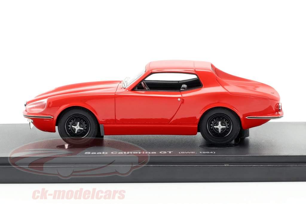 Saab Catherina GT anno di costruzione 1964 rosso 1:43 AutoCult