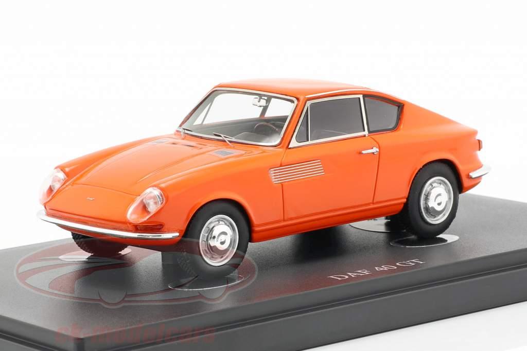 DAF 40 GT año de construcción 1965 naranja 1:43 AutoCult